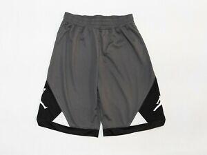 Nike Jordan Jumpman Basketball Shorts Smoke Grey Boys Size XL NWOT