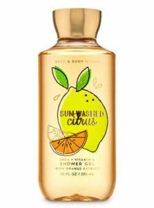 Brand New Bath and Body Works Sun Washed Citrus Shower Gel + Body Cream Set