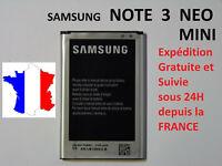 Batterie pour Samsung Galaxy NOTE 3 Mini / Note3 Néo  EB-BN750BBC / EB-BN750BBE