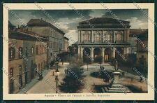 L'Aquila Città Chiaro di Luna cartolina QQ3837