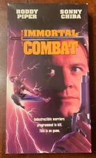 Vguc Vhs Tested Immortal Combat Roddy Piper Sonny Chiba A-Pix