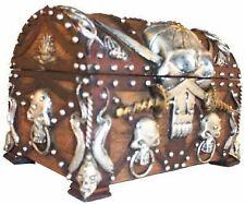 Pirate's Treasure Chest Trinket / Mini Jewelry Box