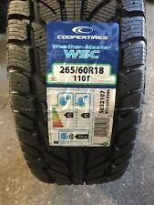 1 X 265/60TR18 COOPER WEATHERMASTER 110T TYRE