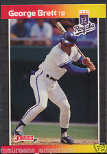 Donruss 1988 / 1989 Baseball Card - No 204 - George Brett - Royals