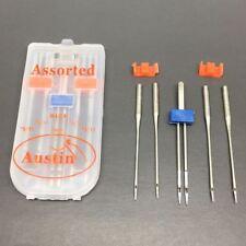 Sewing Machine Needle set 1 x 2mm Twin and 4 x 75/11 Needles