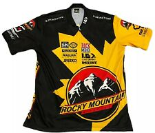 Louis Garneau All Over Print Short Sleeve Cycling Jersey L Large Made In USA
