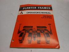 Used Allis-Chalmers Operators Manual 300 Series 2, 4, 6 Rows -21A8#1