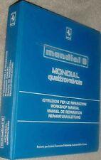 Ferrari Mondial & 308 Factory Workshop Manual