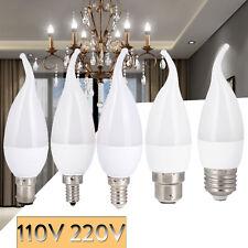 3W LED Bulb Flame Candle Light Dimmable E12 E26 E27 E14 B22 B15 Chandelier Lamp