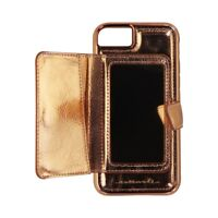 Case-Mate Compact Mirror Case Series Cover for Apple iPhone 8 7 - Rose Gold