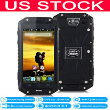 """New listing Unlocked Rugged Android 3G Smartphone 4.5"""" Dual Core 4000mAh Cell Phone Landr V9"""