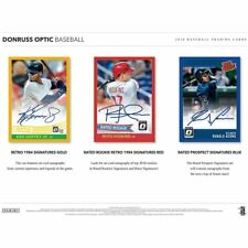 COLORADO ROCKIES 2018 PANINI DONRUSS OPTIC BASEBALL 6 BOX HALF CASE BREAK #12