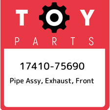 17410-75690 Toyota Pipe assy, exhaust, front 1741075690, New Genuine OEM Part