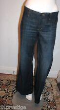 Martin + Osa Donna Jeans Gamba Larga Cotone Blu/Elastan Made in Hong Kong