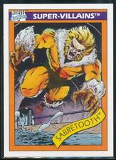1990 Marvel Universe Series 1 Trading Card #57 Sabretooth
