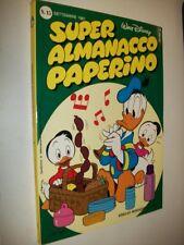 SUPER ALMANACCO PAPERINO:N.15 SECONDA SERIE WALT DISNEY SETTEMBRE 1981 OTTIMO!
