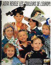 Publicité Advertising 1988 Les Pellicules photo Agfa