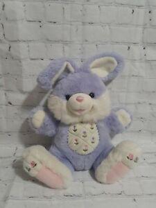 """Dan Dee Pastel Hoppy Hopster Easter Bunny Rabbit Stuffed Animal Purple Kei 24"""""""