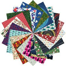 Origami Paper Christmas Gift Set | 200 Sheets, 15cm Square | Christmas Patterns