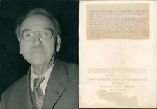 Professeur Lacassagne, du Collège de France Vintage silver print Tirage ar