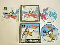Cool Boarders 1 & 2 - PS1 Sony PlayStation Game Bundle Lot