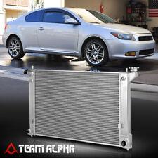 Fits 2005-2011 Scion tC 2AZ-FE MT[DUAL ROW CORE]Aluminum Racing Cooling Radiator