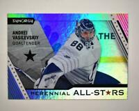 2020-21 UD Synergy Perennial All-Stars #PA-1 Andrei Vasilevskiy