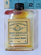 Vintage Pierre Chauvet & Co. Grasse France Essence Absolue E'Purees 10% RARE