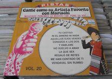 CANTE COMO SU ARTISTA FAVORITO MEXICAN LP STILL SEALED SING A LONG MARIACHI