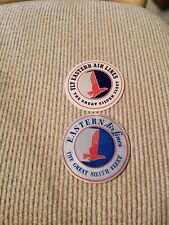 Eastern Airlines Luggage Stickers, set of 2, from the 1950s