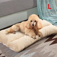 More details for new dog bed puppy pets cat cushion pillow mattress warm soft fleece pet bed