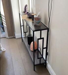 Slim Hallway Console Table Hall Entryway Living Room Furniture Narrow Industrial