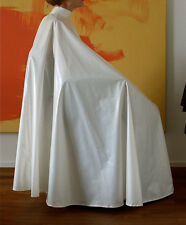 Luxurious Satin Hair Cutting Cape - Nice - Long - Full - Snaps or Other Closure