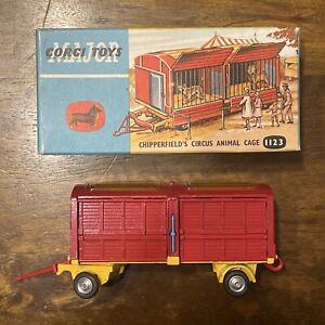 Corgi Toys No. 1123 Chipperfield Circus Cage w/ Animals in Original Box MIB