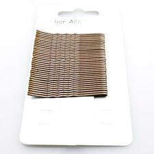 Card of 36 Brown Hair Grips