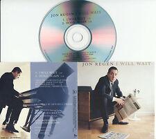 JON REGEN I Will Wait 2015 UK 2-trk promo test CD