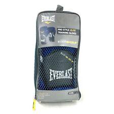 NEW! Everlast Pro Style Training Gloves - 8 oz - Blue - Boxing - SHIPS FREE!!