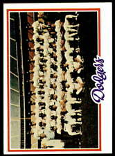 Dodgers Team 1978 Topps #259 Dodgers NM