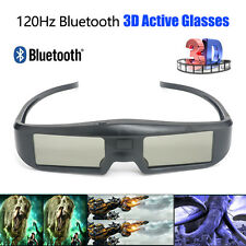 Wireless Active 3D Shutter Glasses USB Rechargeable 120Hz For Panasonic Sony TV