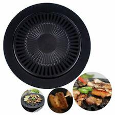 Korean Barbecue Dish Non-Stick Card Oven Grill Pan Smokeless Baking Pan#^