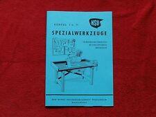 NSU  KONSUL I + II    SPEZIALWERKZEUGE   Katalog
