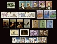 GB 1973 Commemorative Stamps, Year Set~Unmounted Mint~UK Seller