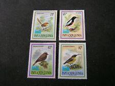 PAPUA NEW GUINEA, SCOTT # 806-809(4),1993 COMPLETE SMALL BIRDS (TAIPEI) ISS MVLH