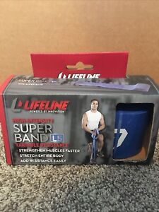 Lifeline high intensity super band L5 variable resistance band new