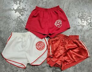 Lot Of 3 Vintage 50s 60s Madison CUBS Gym Boy Shorts Size S Basketball Indiana
