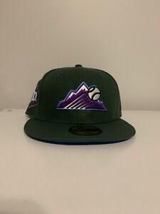 Colorado Rockies Hat Club Exclusive 7 3/8