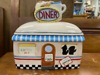 Vintage Diner Cookie Jar