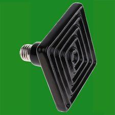 4x 100W Ceramic Infrared Square Reptile Heat Emitter Lamp Light Bulb ES E27