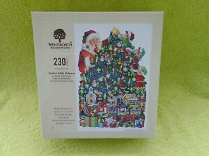 Wentworth jigsaw Christmas Santa's Little Helper 230 pieces new sealed in box