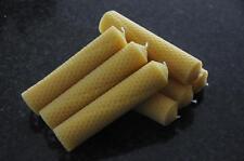 7x Bougies de Cire D'abeille L 100 % 140 x 32mm Fait à la main en d
